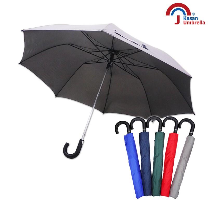 【Kasan】防護罩二折自動雨傘