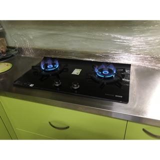 《鎧廚》含基本安裝*振興加碼補助$500* 24H快速安裝 櫻花雙旋火檯面式瓦斯爐G-2922GB 新北市