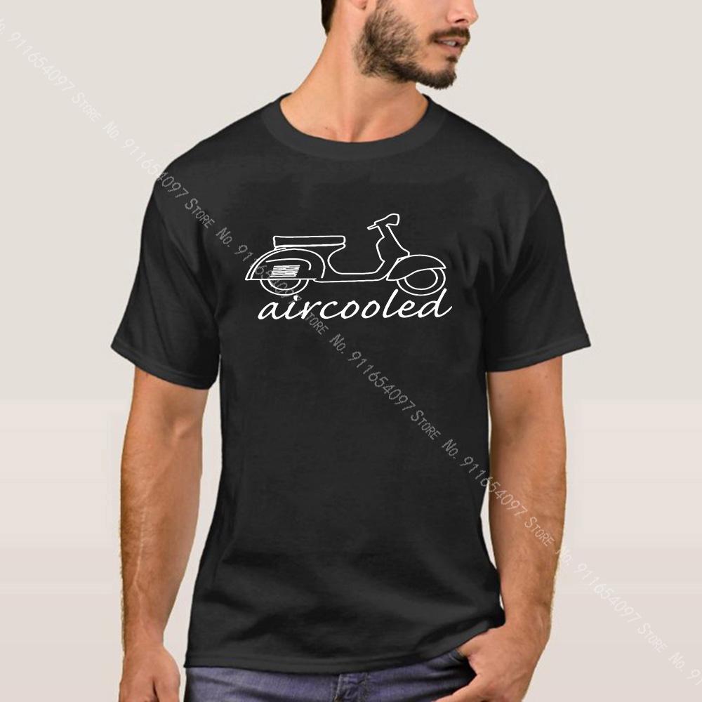 摩托車t卹Vespa風冷模型經典俱樂部Gs150Cc李意大利自行車復古