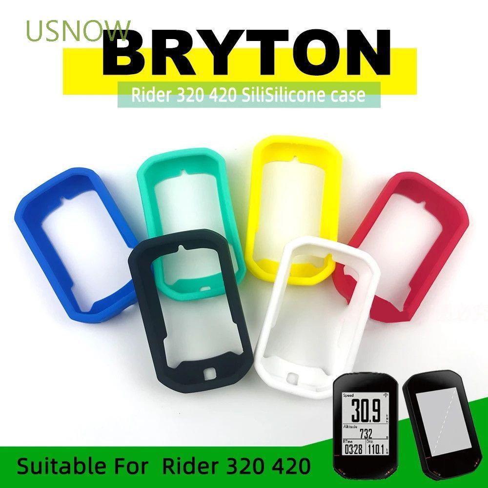 Usnow For Bryton420 Bryton Rider 420 Case 自行車零件自行車電腦護罩騎手 320