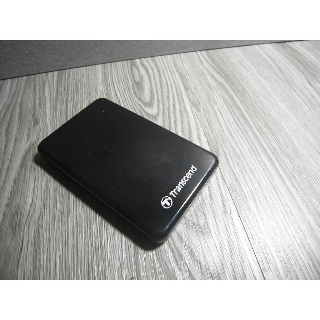 二手-Transcend 創見 2TB TS2TSJ25A3K 2.5吋黑色 USB3.0 行動硬碟 隨身碟