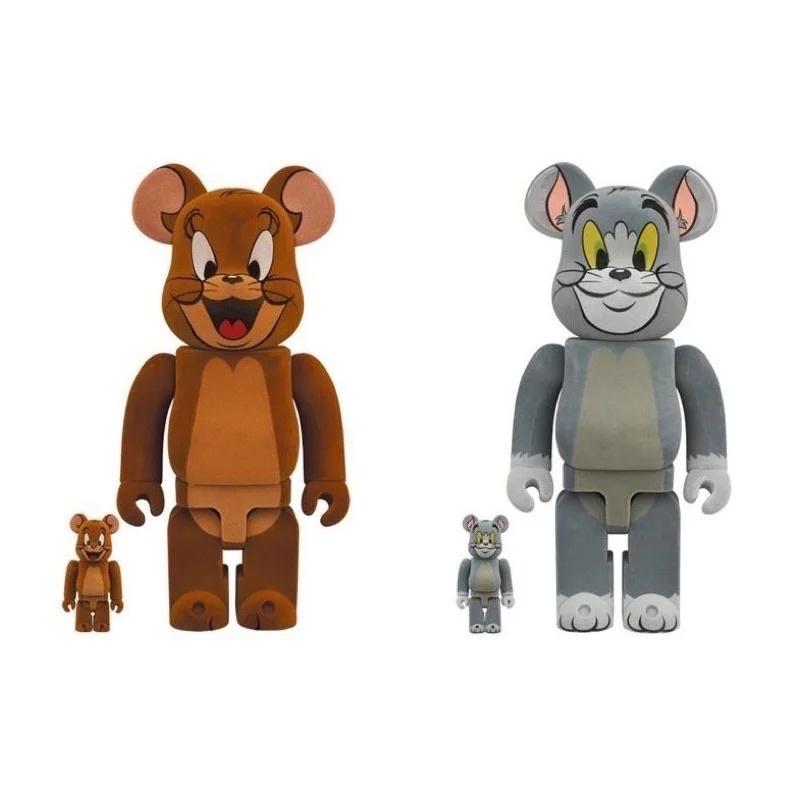 全新 現貨BE@RBRICK 庫柏力克熊 湯姆貓與傑利鼠 500% 1000%