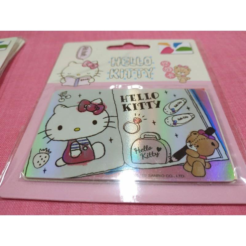 【Ming】悠遊卡-HELLO KITTY 塗鴉本(閃卡)(檢:一卡通,愛金卡,ICASH,交通卡)