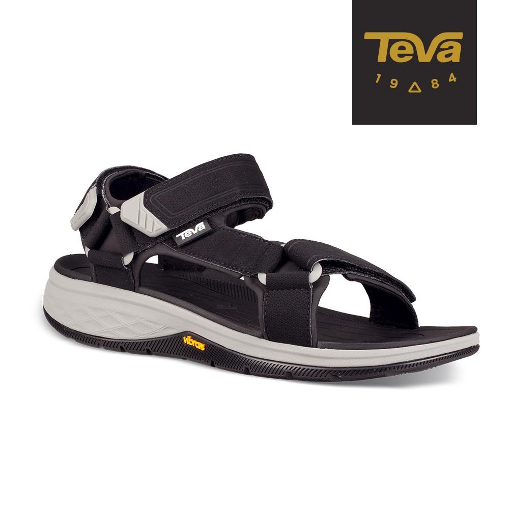【TEVA】男 Strata Universal 登山健行運動涼鞋/雨鞋/水鞋-黑色 (原廠現貨)