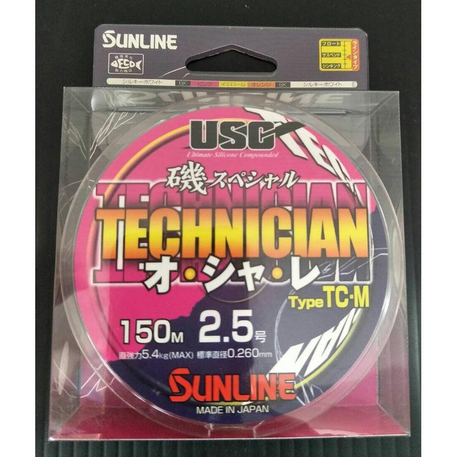 SUNLINE 磯SP TECHNICIAN TC-M 150M尼龍線