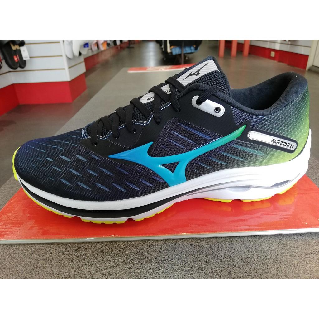 MIZUNO美津濃 WAVE RIDER 24 OSAKA 2020大阪馬拉松紀念款 男鞋 慢跑鞋 J1GC200818