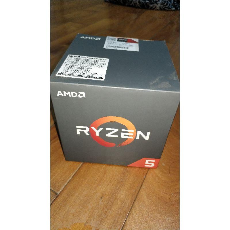 八核心 AMD Ryzen R5 1600 八核心處理器