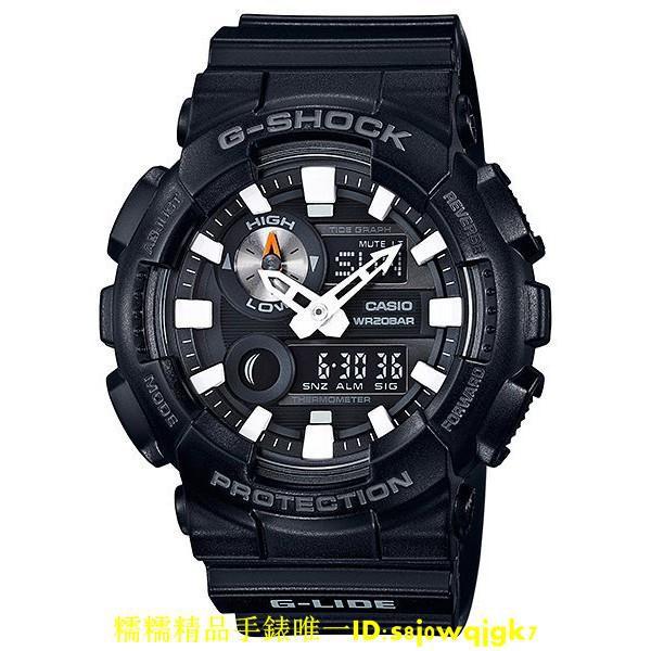 CASIO 卡西歐 G-SHOCK GAX-100B-1A 黑 衝浪錶款 GAX 100