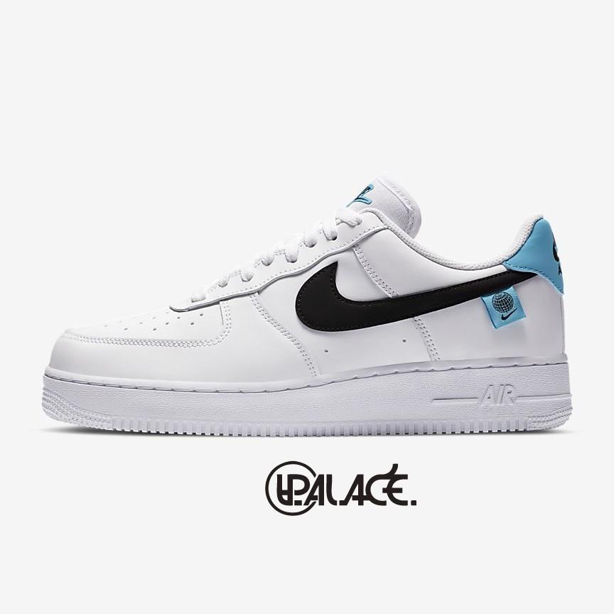 【NIKE】Air Force 1 '07 白色 藍標 低筒 男鞋 休閒鞋 CK7648-100