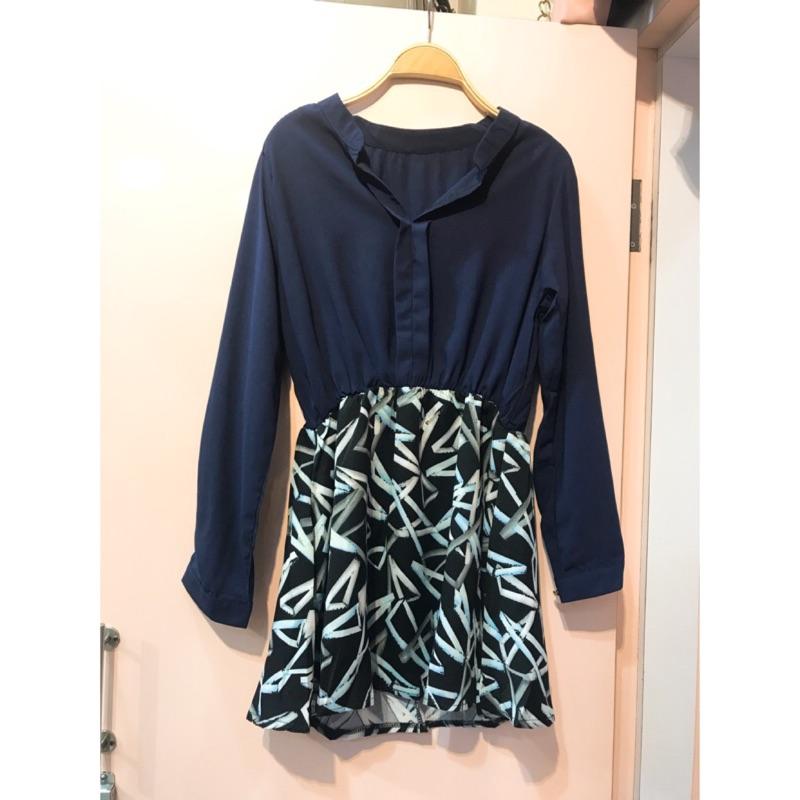 韓版雪紡洋裝