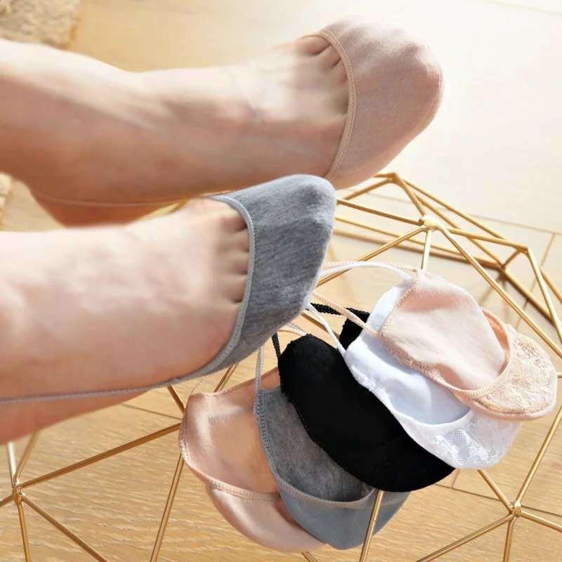 TODAY特價▽半掌襪女吊帶襪隱形船襪淺口前掌襪夏季薄款棉半腳半截高跟鞋襪子