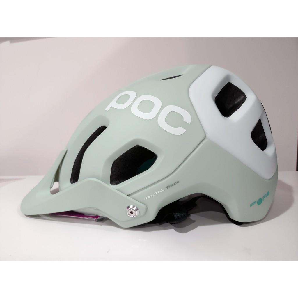 POC tectal race SPIN 灰綠色安全帽XL/XXL號(59-62cm)