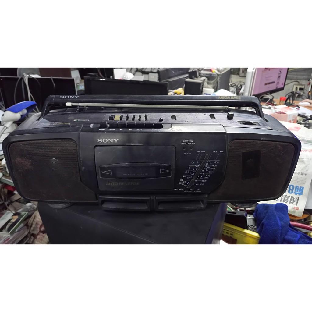懷舊 收藏 道具 早期 SONY CFS-D30S 手提音響 僅供收藏不保證功能