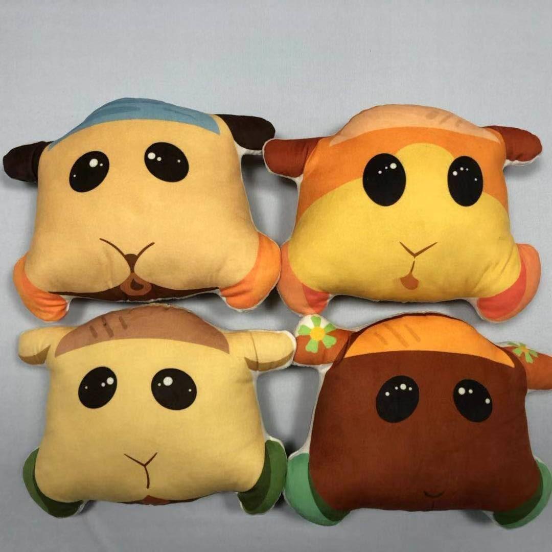 2021日本動漫天竺鼠車車抱枕 日系抱枕 掛件 臺灣娃娃機毛絨玩具掛件 天竺鼠車車玩偶 掛件 禮物