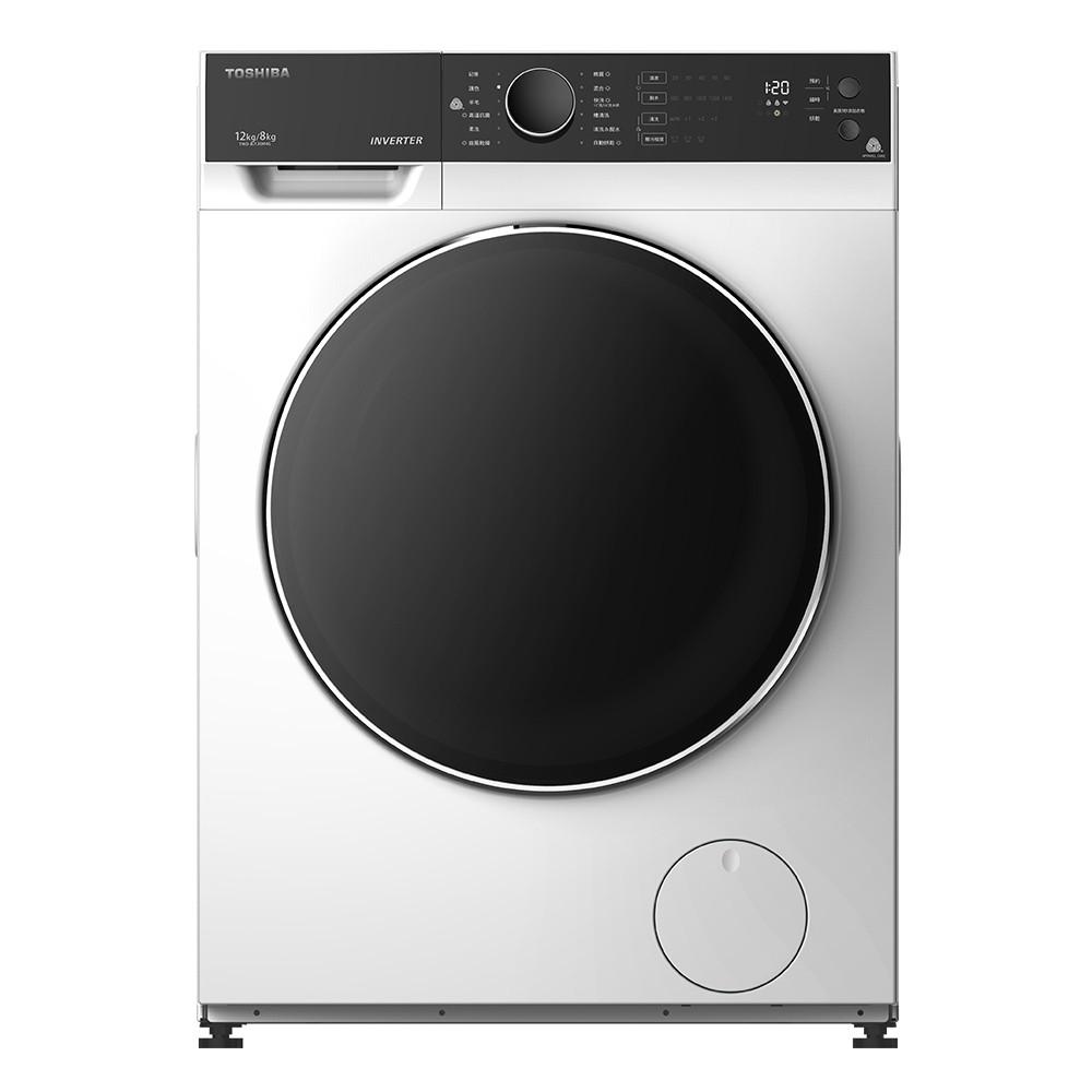 【TOSHIBA 東芝】 12公斤 洗脫烘 變頻式滾筒洗衣機 TWD-BJ130M4G