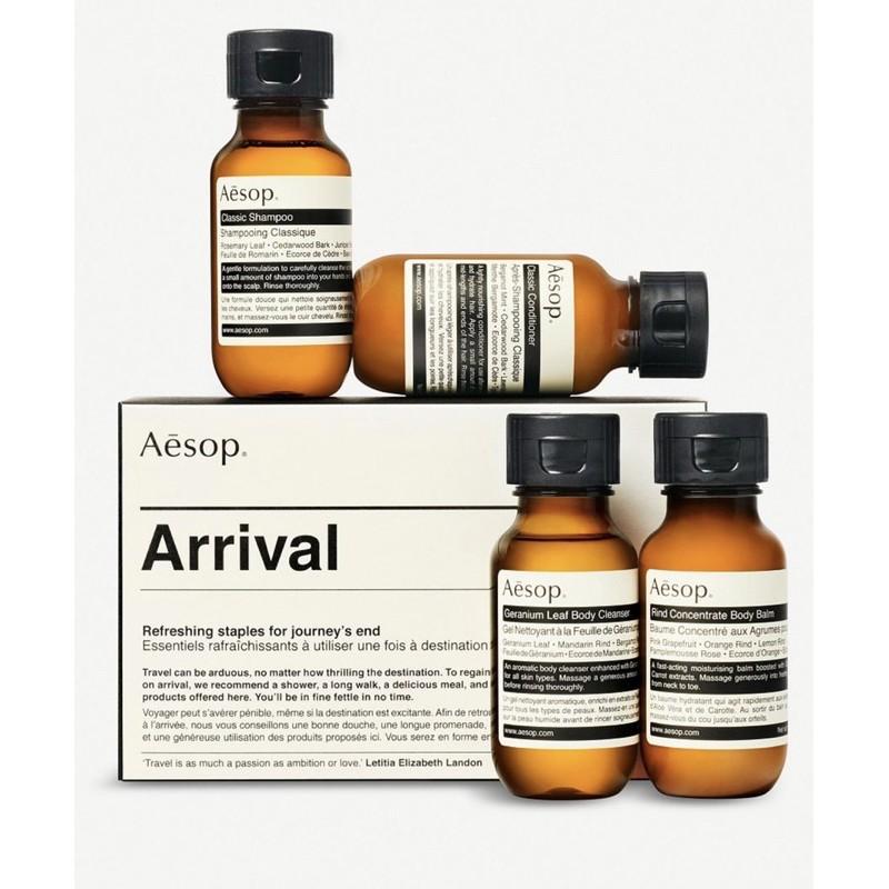 💋Chu Bebe 💯正品‼️ Aesop 旅行套裝 沐浴精 洗髮精 護髮素