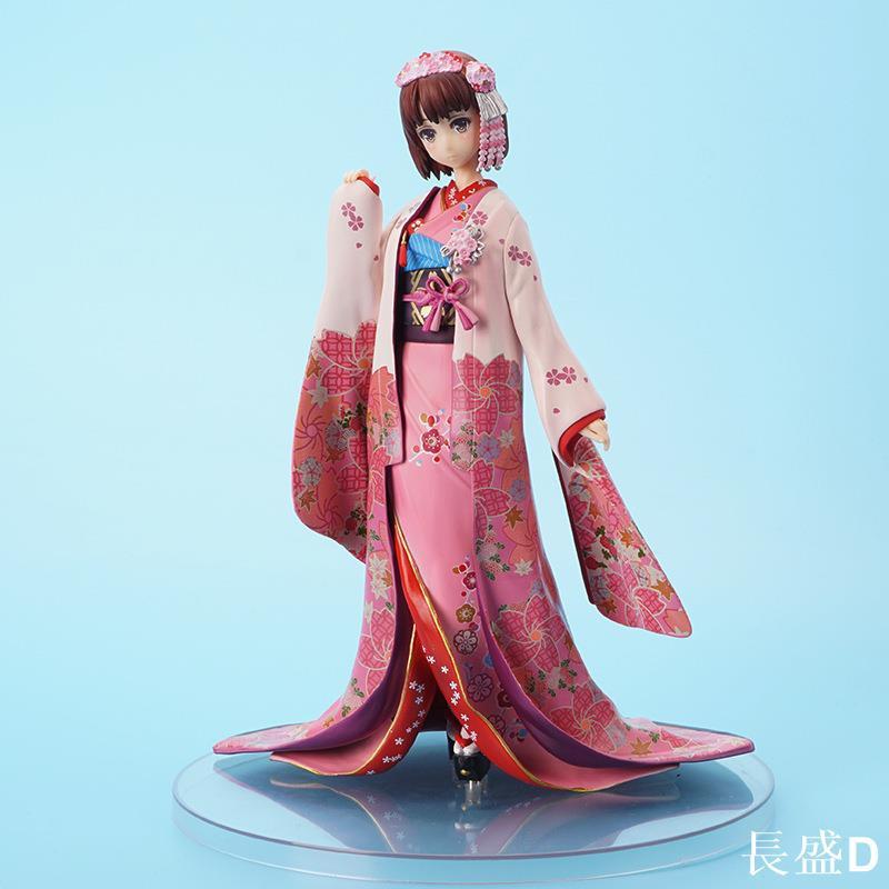 【熱銷】加藤惠手辦路人女主的養成方法和服圣人惠動漫二次元手辦模型擺件