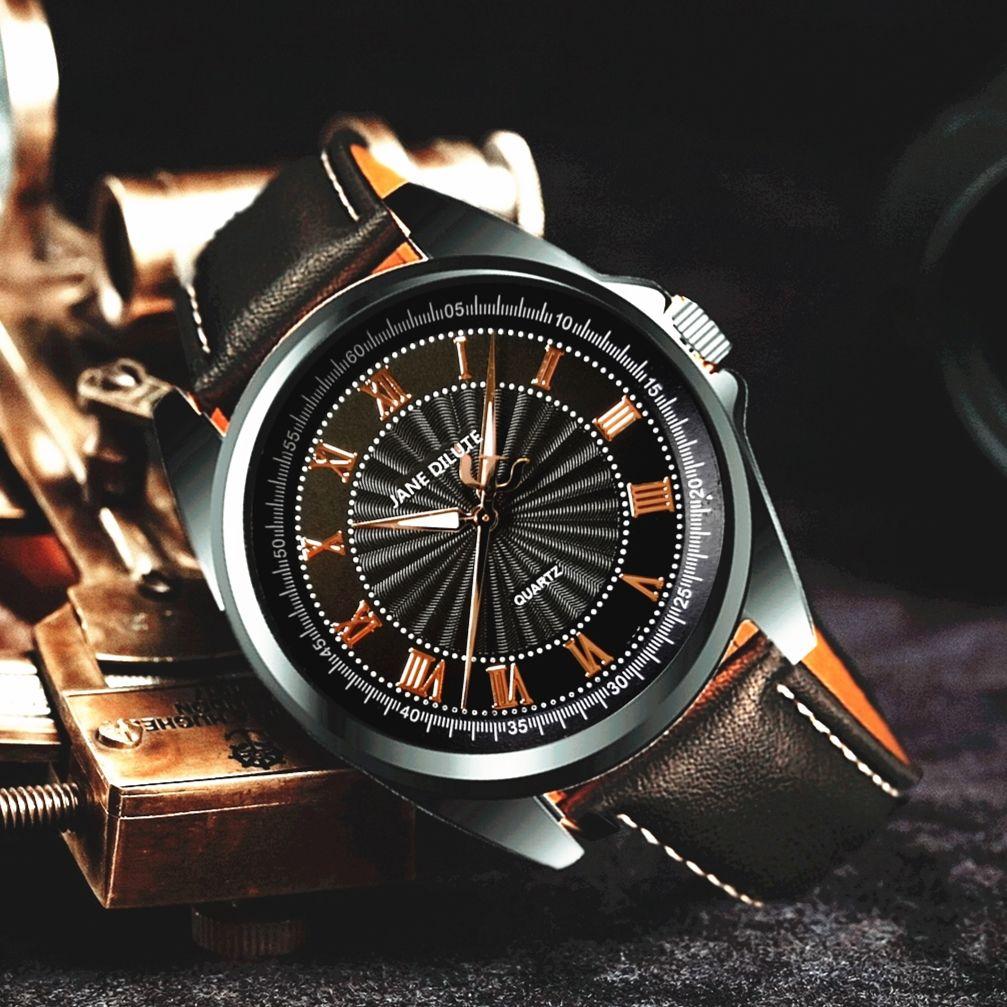 尊貴正品手錶男士韓版時尚簡約百搭防水電子腕錶抖音同款生日禮物