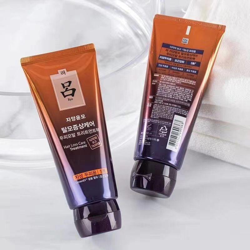 韓國 Ryo 呂 護髮膜系列 染燙修護 200ml大容量