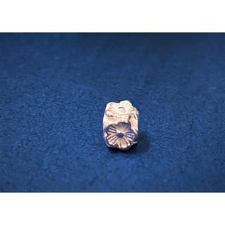 DIY手作材料 銀飾配件材料 925純銀 隔珠 梅花 約5.7mm*5mm 單個 1B25 新北市