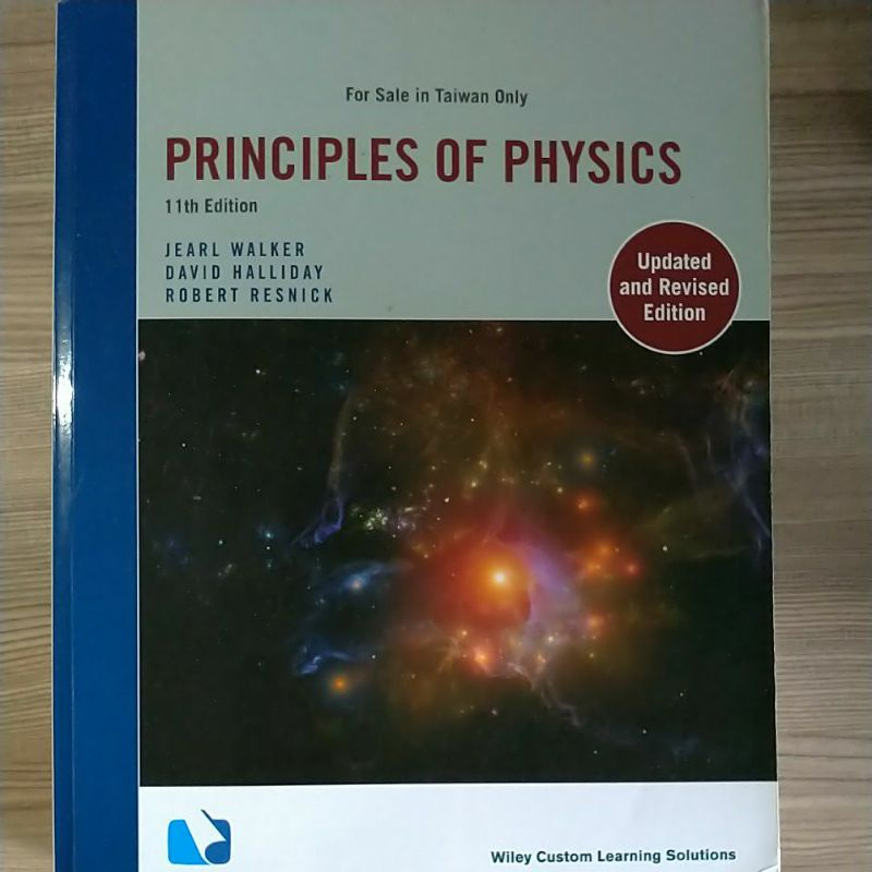 Principles of Physics 11th edition (二手)