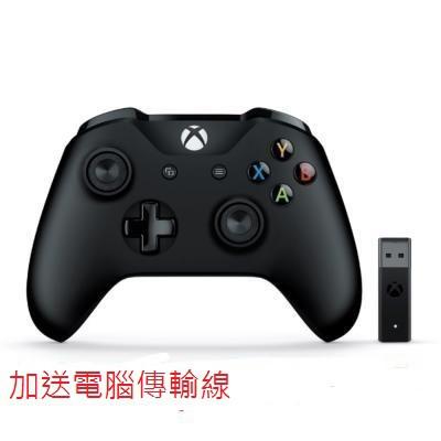 全新原廠XBOX ONE控制器windows/手把 無線轉接器FOR PC 套裝組win10