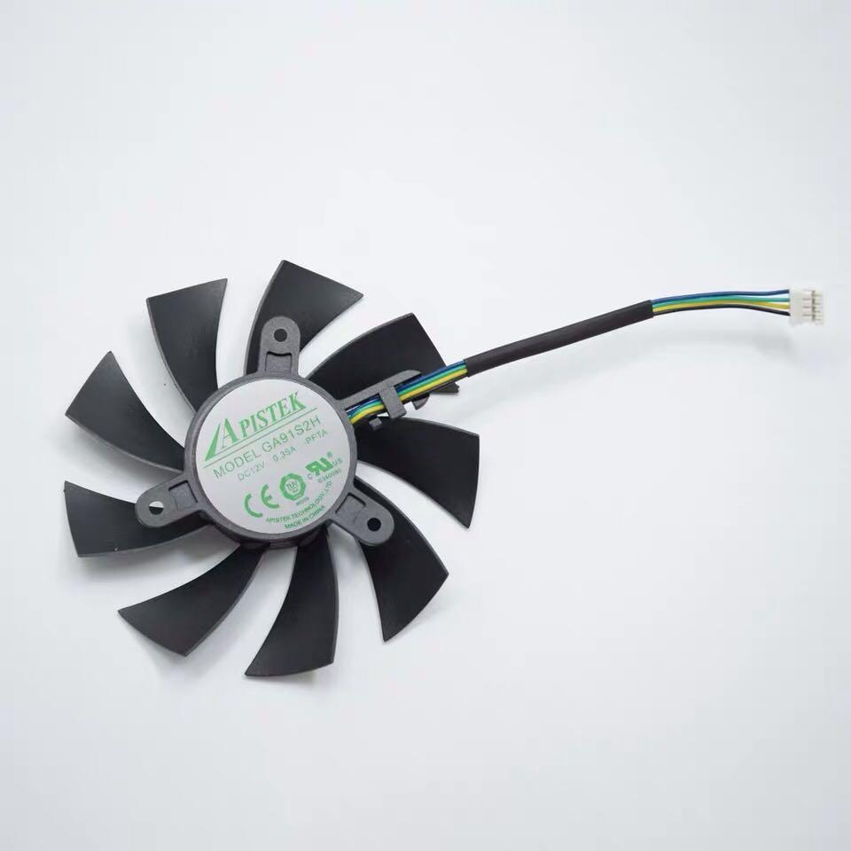 索泰顯卡風扇 Zotac GeForce GTX 1060 3GB ITX mini 1080 1070