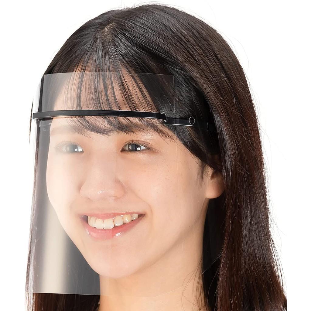 日本面罩(2WAY) [💗黑色單入、多件組下單區💗]日本製 防疫面罩 防護面罩 防飛沫面罩 非昂貴夏普面罩