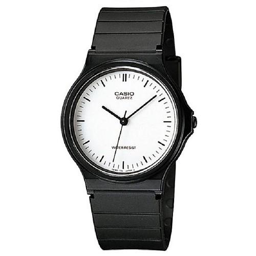 【CASIO】超薄經典指針錶-白羅馬(MQ-24-7E)正版宏崑公司貨