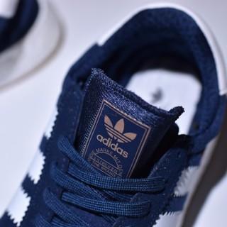 Adidas INIKI Runner Boost 海軍藍 麂皮 OG 深藍 BB2092 女