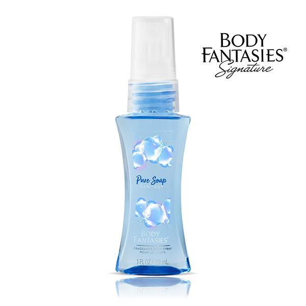 BODY FANTASIES身體幻想怡靜皂香香氛噴霧(29ml)【康是美】