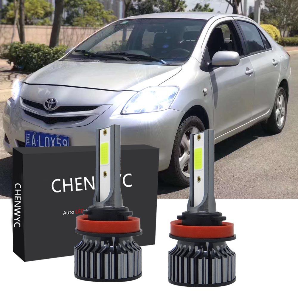 2 件 for Toyota Vios NCP93 6000k 前照燈大燈燈泡 2008 2009 2010 2011