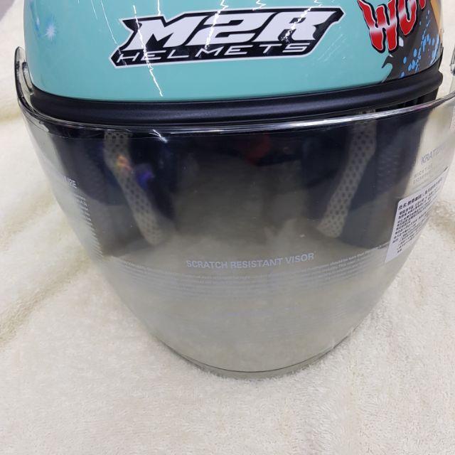 M2R FR1 鏡片淺茶色鏡片 深黑色 電鍍彩色 內襯套組 鏡片座  帽袋