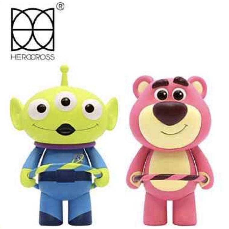 HEROCROSS CFS系列 玩具總動員 迪士尼公仔 HOOPY 伴伴系列 三眼怪 熊抱哥 正版 公仔