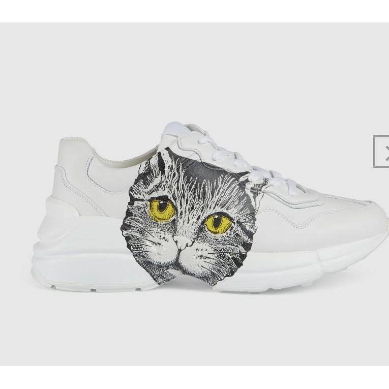 全新代購 GUCCI 古馳 Rhyton Mystic Cat 貓 老爹鞋 583337