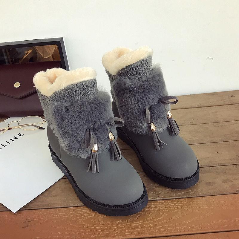 【免運】雪地靴女2020秋冬季新款韓版百搭學生女棉鞋ins短筒加絨保暖短靴