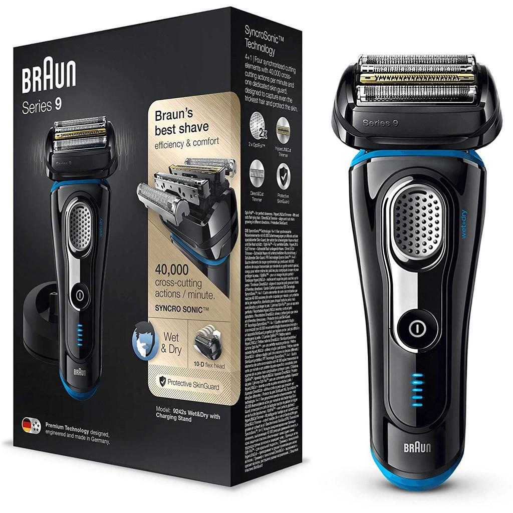 現貨德國BRAUN 百靈 9242S 9240S 9293S 9330s 9系列音波電鬍刀 電動刮鬍刀可水洗附旅行攜帶盒