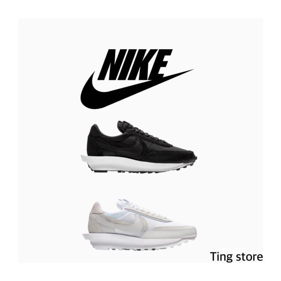 NIKE SACAI 全白/黑白【Ting Store】