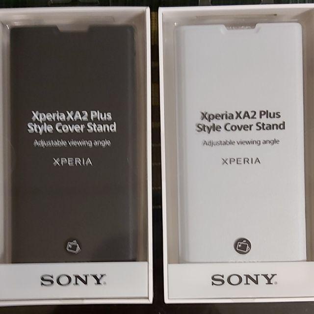 SONY 原廠盒裝 Xperia XA2 plus 側翻式皮套 SCSH60台灣索尼公司貨