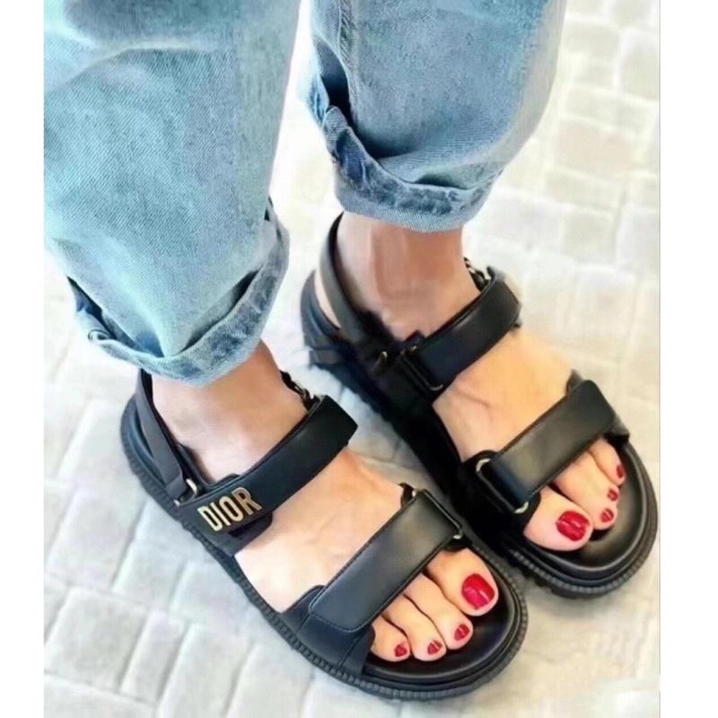 2021專櫃新款同步發售✅Dior涼鞋 平底鞋 休閒鞋 懶人鞋 媽媽鞋