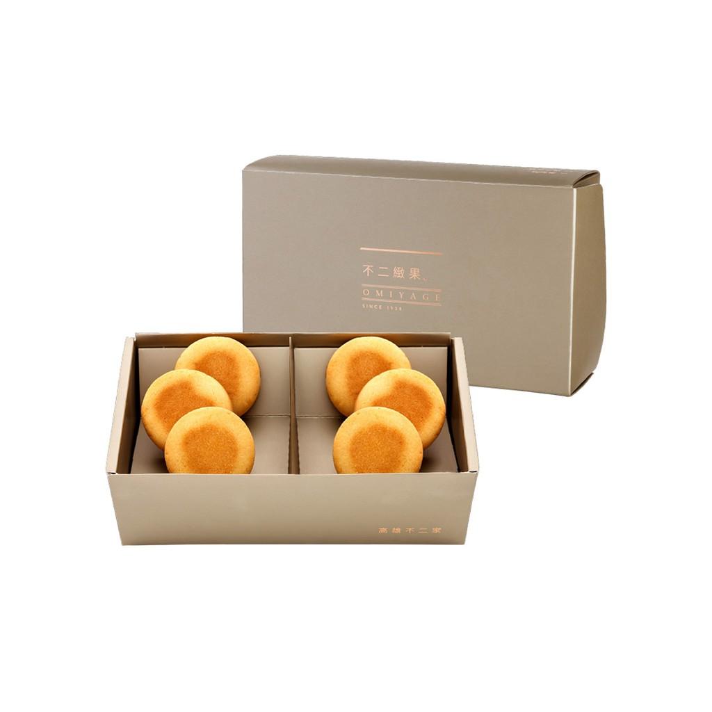 【不二緻果-高雄不二家-】 6入鳳梨酥禮盒