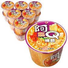 阿Q桶麵(韓式泡菜)一箱/12碗 $365