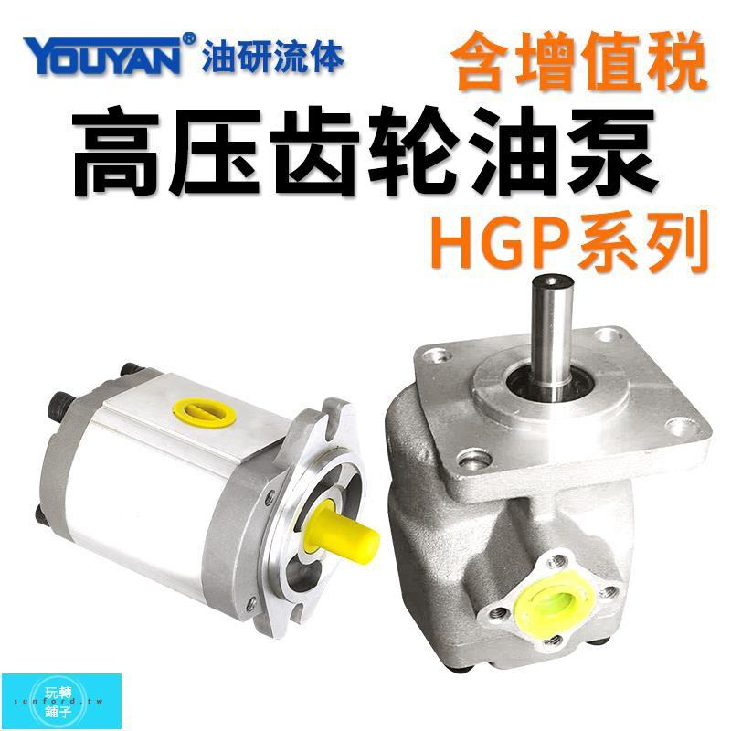 下殺HGP-1A-F1R-X-2B-10高壓齒輪泵2A 3 4 5 6 9 12液壓11油泵F8R 4BJ新品