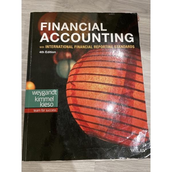 Financial Accounting 4th edition 會計學原文書