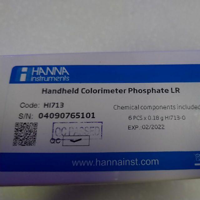 Hanna HI713 po4蛋蛋機