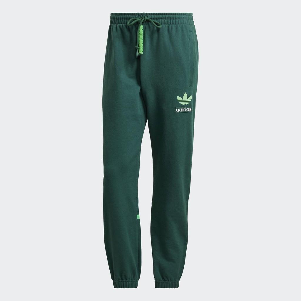 SW愛迪達 Adidas 21-01月 H09344 運動長褲_男_綠色 公司貨 現貨秒發 代購代買