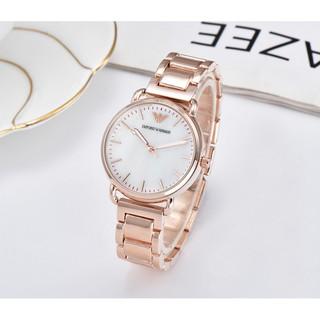 【有間小鋪】ARMANI 亞曼尼 經典款石英錶 腕錶女士商務手錶 桃園市