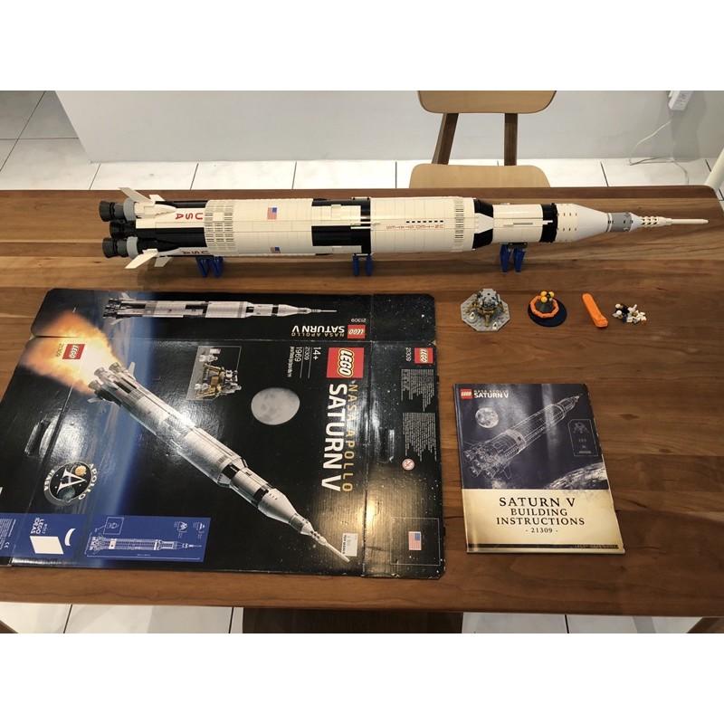 Lego 樂高 21309 Saturn V 農神五號火箭