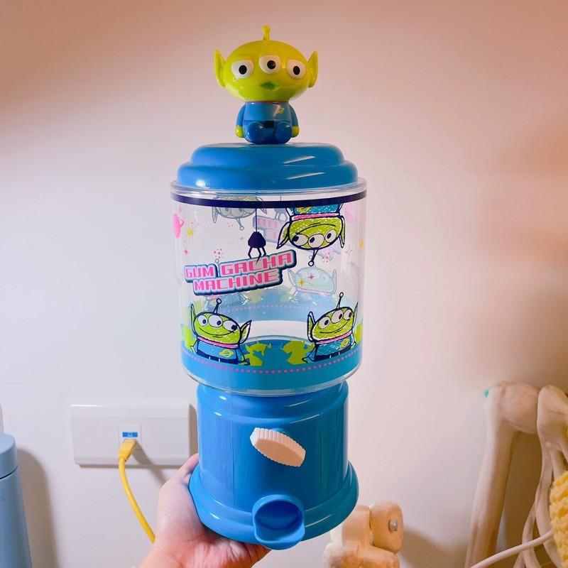 迪士尼 玩具總動員 三眼怪 糖果扭蛋機 糖果罐