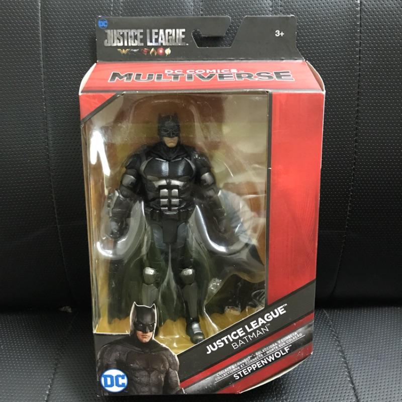 (卡司 正版現貨) DC multiverse 6吋 正義聯盟 蝙蝠俠 Batman mattel 美泰兒 (無BAF)